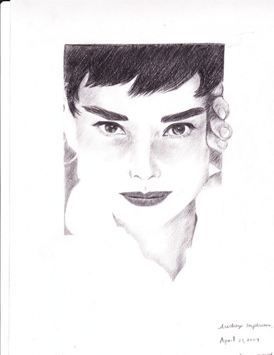 Audrey Hepburn by 154247907